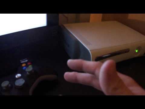 Xbox 360 Wireless N Adapter Unboxing and Setup