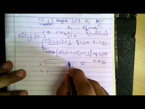 Dynamic Programming: Longest Common Subsequence