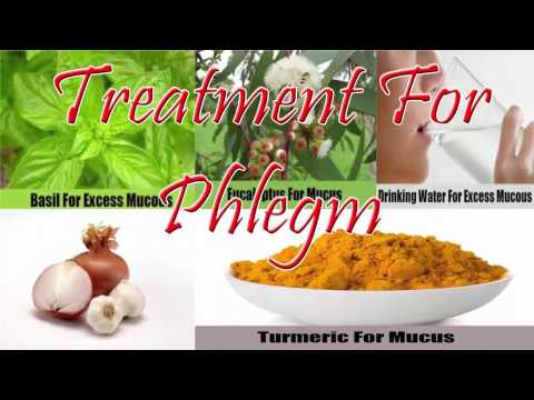 How To Get Rid Of Mucus In Lungs -  Best Home Remedies For Phlegm Treatment
