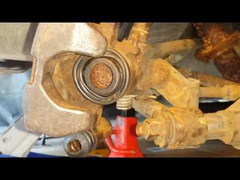 Rear Brake piston compression 2003 Mazda Protege and some Miata's