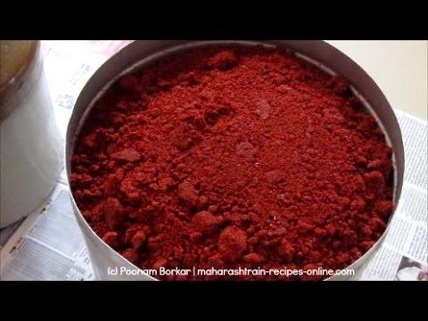 Kanda Lasun Masala- Authentic Maharashtrian Recipe | Poonam Borkar Recipes