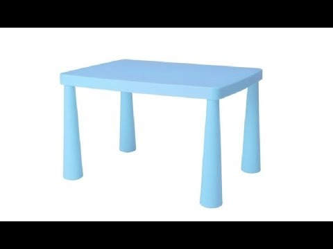The Best No Sharp Edges Toddler Table