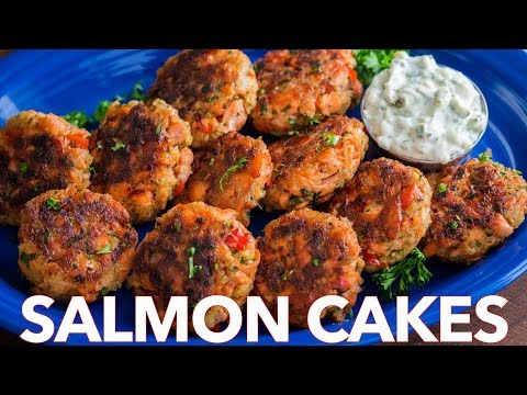 How To Make Salmon Cakes Recipe - Quick and Easy Salmon Patties