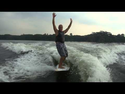 Surfing in Singapore