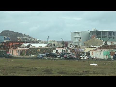 US Evacuation Of Hurricane-Damaged St. Maarten Island