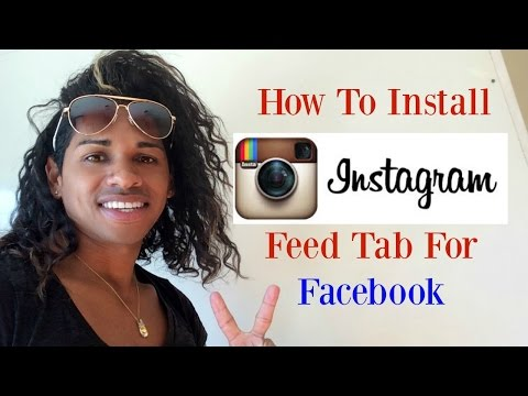 How to Install Instagram Feed Tab For Facebook Fan Pages 2016 ✔️