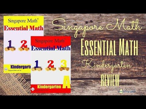 Homeschool Curriculum: Singapore Math Kindergarten