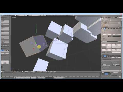 Blender 3d Modeling Tutorial ( 6 ) - Important Hotkeys and 3D Manipulation