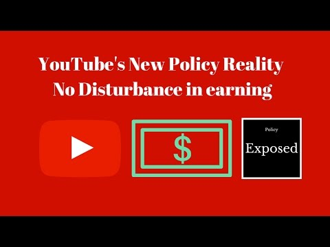 YouTube's New Policy of 10K views | Reality of Youtube Earning | Earn From YouTube | New Policy