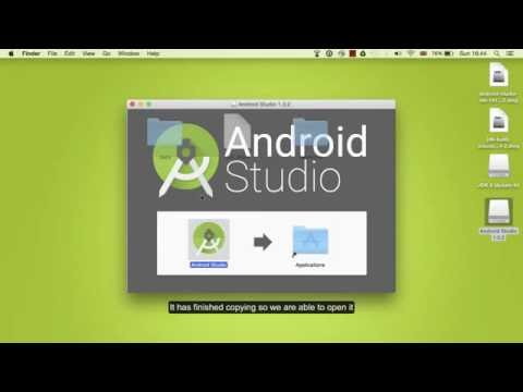 How to install android studio and java kit on mac Os and windows for beginner