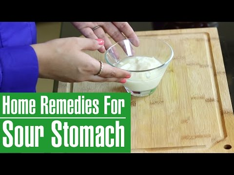 Sour Stomach Remedies – How To Get Rid Of Sour Stomach