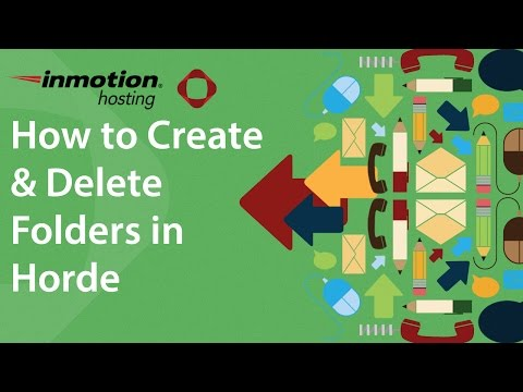 How to Create and Delete Folders in Horde