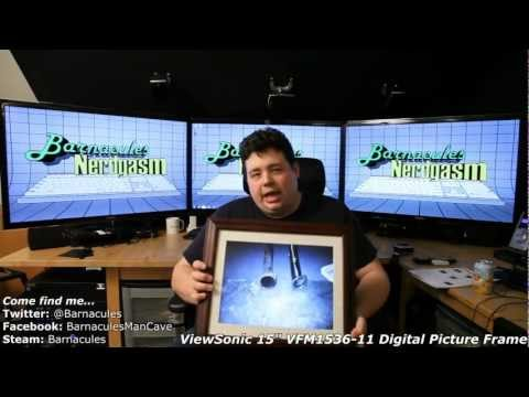 Large Digital Picture Frame Unbox and Review - 15