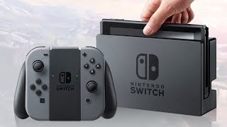 Nintendo Switch Price and Release Date Announcement