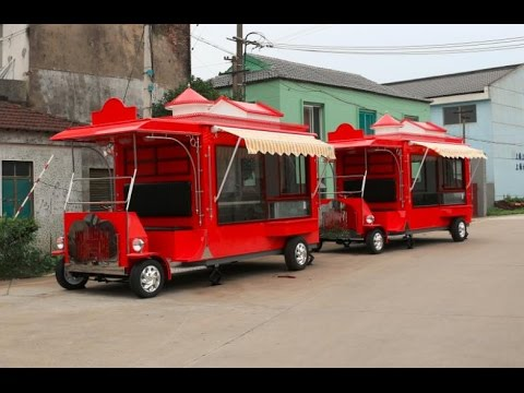 Build -Food  Terailer/Food Carts/Coffee Carts/Cofee Trailer/MODEL-SDLY -350/ CART