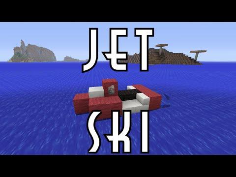 Minecraft Vehicle Tutorial - JET SKI