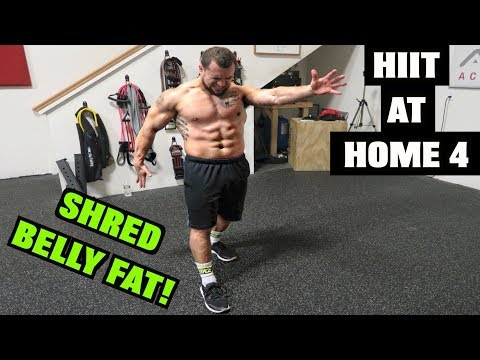 Intense 5 Minute Belly Fat Burning Cardio Abs Workout #4 | HIIT At Home!