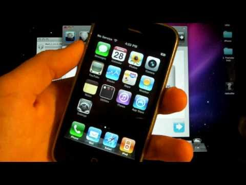 How To Unlock iPhone 3Gs/3G 4.2.1/4.1 Firmware With Ultrasn0w - 5.14.02 & 5.15.04 Mac Version