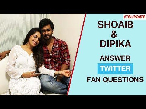 Shoaib Ibrahim & Dipika Kakar AKA Shoaika Answer Fan Questions From Twitter