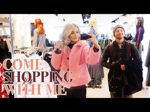 COME SHOPPING WITH ME IN SELFRIDGES and MINI CLOTHING HAUL   VLOG 72
