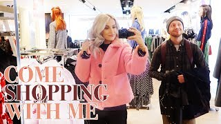 COME SHOPPING WITH ME IN SELFRIDGES and MINI CLOTHING HAUL | VLOG 72