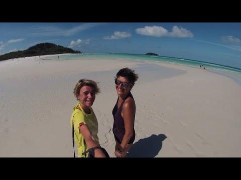Australia, Sydney, Great Barrier Reef & Whitehaven Beach. GoPro [1080p]
