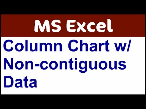 Create a Column Chart in Excel with Only Some of the Data