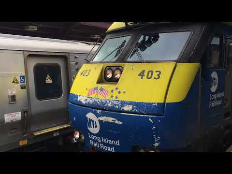 Long Island Rail Road video postcard Dec. 12, 2017