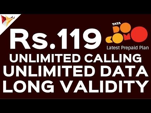 Jio Effect   Tata Docomo New Plan With Unlimited Calling & Data   Data Dock