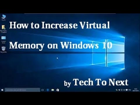 How to Increase Virtual Memory on you Windows 10 | Boost Performance the Virtual Memory Windows 10