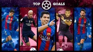 FC Barcelona: BEST 10 GOALS FIRST HALF OF THE SEASON