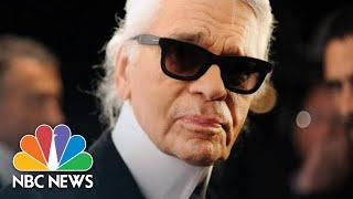 Iconic Fashion Designer Karl Lagerfeld Dies Aged 85 | NBC News