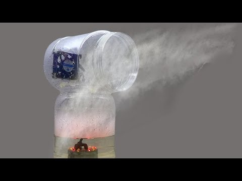 How to Cool a Room Without Using Air Conditioning - DIY Misting Fan
