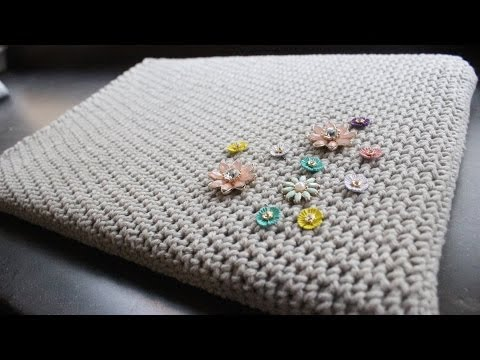 Basic Crocheted Laptop Sleeve
