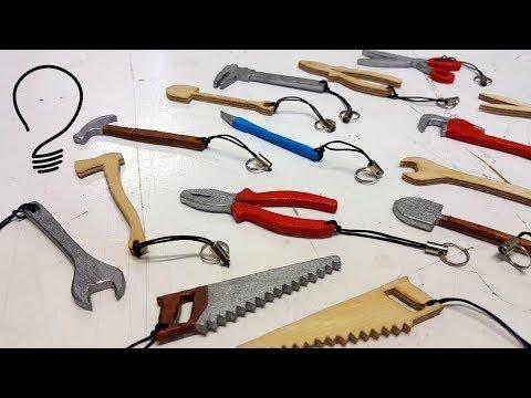 Tool Shaped Key Chains