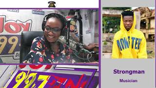Strongman Speaks About Diss Songs Live on #CosmopolitanMix on Joy FM (24-6-19)