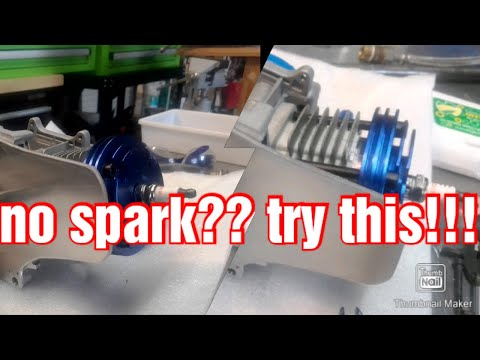 how to check/set the spark on a pocket bike engine