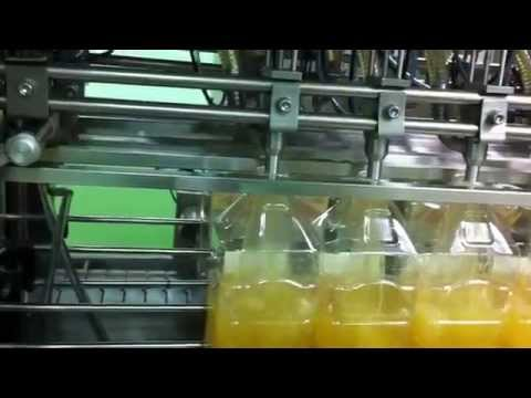 Oneline Jerry Can Filling machine, Oil filling machine for Bottle, Jerry can