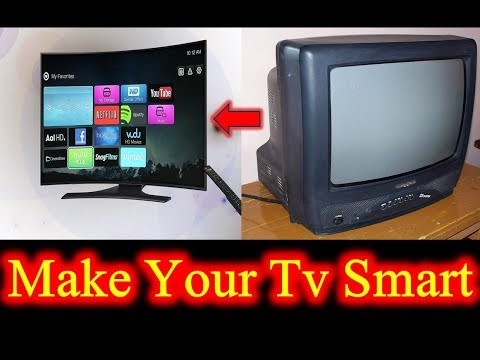 Turn Your Normal Tv Into Smart Tv Urdu / Hindi | Easy Trick To Make Any Tv Smart Tvs