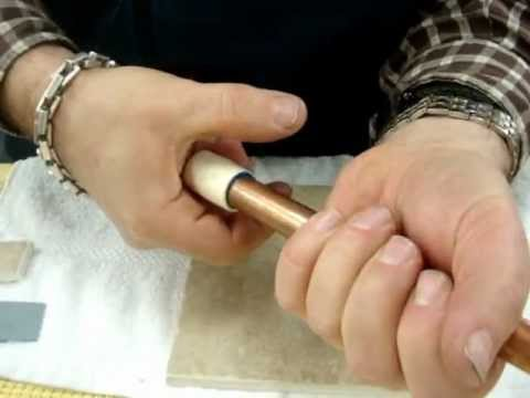 HOW TO USE TREAD LOCK GLUE TO REPAIR METAL PIPE TO PLASTIC