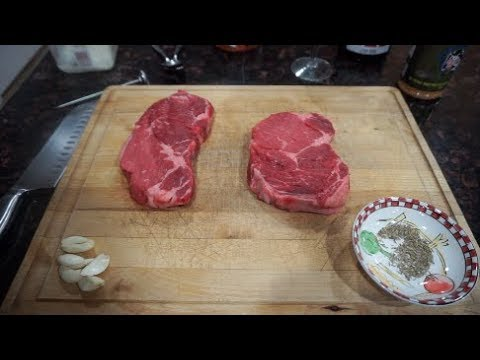 Cooking a Ribeye Steak in Cast Iron Skillet with Kristen Graham