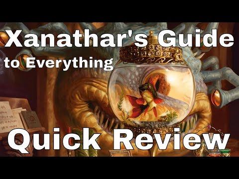Xanathar's Guide to Everything Review (Quick)