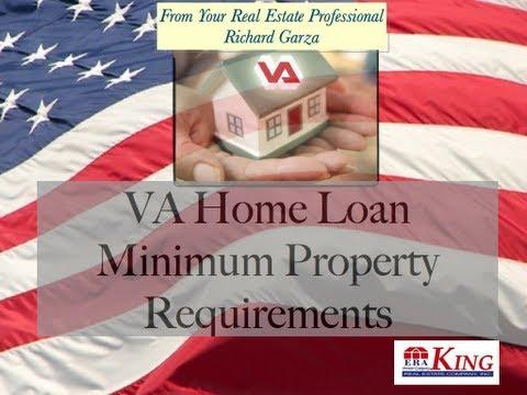 VA Home Loan Minimum Property Requirements (MPR)