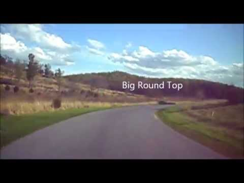 Gettysburg Battlefield and Town Drive Through
