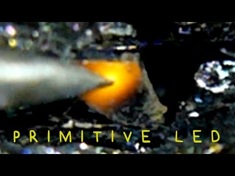 How to Make a Primitive LED with Silicon Carbide