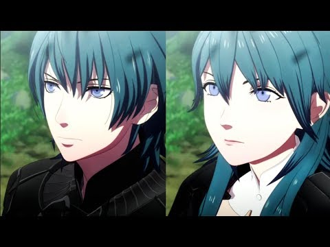 Male vs Female Byleth Comparison - FE Three Houses Preview
