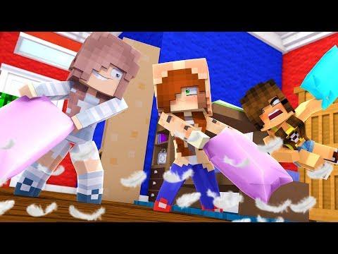 Minecraft Dragons -  Sleepover Gone Wrong !? (Minecraft Roleplay - Episode 18)