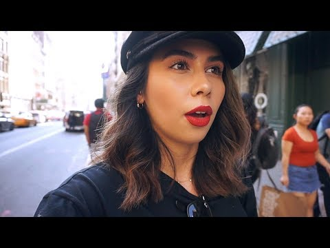 Shopping in SOHO, New Piercings + Avoiding Fashion Week   NYC VLOG