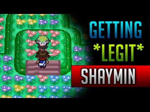 How & Where to catch/get - *LEGIT* Shaymin in Pokemon Black 2 & Pokemon White 2