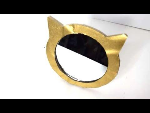 {DIY} Cat Mirror